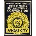 Kan sas City 1928 Baptist Young Peoples ...
