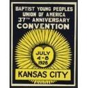 Kan sas City 1928 Baptist Young Peoples ...