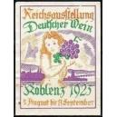Koblenz 1925 Reichsausstellung Deutscher Wein