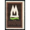 Köln 1924 Messe, Wir beschicken die ... (WK 01)