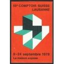 Lausanne 1978 59e Comptoir Suisse La maison expose