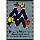 Leipzig Trade Fair Beginning of March ... (blau)