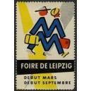 Leipzig Foire de Debut Mars Debut Septembre (weiss)