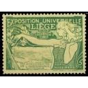 Liège 1905 Exposition Universelle ... (Frau - quer - grün)