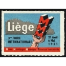 Liège 1951 3ème Foire Internationale ... (WK 01)
