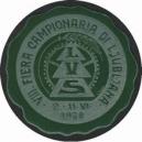 Ljubljana 1928 VIII. Fiera Campionaria ... (grün)