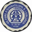 Ljublana 1928 VIII. Foire d'Échantillons ... (blau)