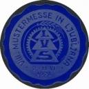 Ljubljana 1928 VIII. Mustermesse ... (blau)