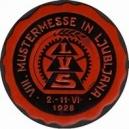 Ljubljana 1928 VIII. Mustermesse ... (rot/schwarz)