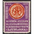 Ljubljana 1928 VIII. Vzorcni Velesejem ... (Var A - violett)