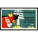 Luzern 1954 11. Ausstellung für Landwirtschaft ...
