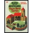Mainz 1927 Ausstellung Haus Herd Garten
