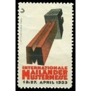 Mailand 1933 Internationale Mustermesse (WK 01)