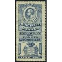 Monaco 1907 Exposition des Canots Automobiles (blau)