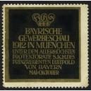 München 1912 Bayrische Gewerbeschau ... (WK 02)