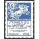 München 1913 XI. Internationale Kunstausstellung ... (blau)