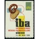 München 1958 iba Internationale Bäckerei-Fachausstellung