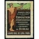 Paris 1913 Exposition d'Organisation Commerciale ... (gezähnt)