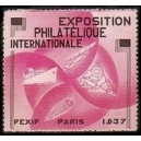 Paris 1937 Exposition Philatélique Internationale (Var B -WK 02)