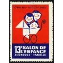 Paris 1962 13e Salon de l'Enfance Jeunesse Famille