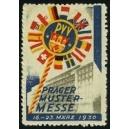 Prag 1930 Mustermesse März