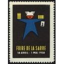 Saarbrücken 1958 Foire de la Sarre