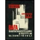 Stettin BAFA Baufachausstellung ... (WK 02)