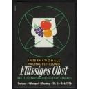 Stuttgart 1956 ... Flüssiges Obst ...
