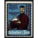 Schaller's Tee Karlsruhe ... (Chinese mit Kanne - blau)