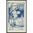 Olympiade 1920 Anvers (blau)