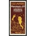 Pfannkuch Karlsruhe Pforzheim Tee-Import (Japanerin - rot)