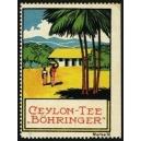 Böhringer Ceylon-Tee Marke 10