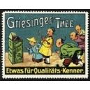 Griesinger Thee ... (Chinesenfamilie - blau)