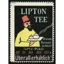 Lipton Tee ... (Mann mit Fez - gelb)
