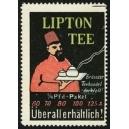 Lipton Tee ... (Mann mit Fez - rot)