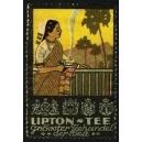 Lipton Tee ... (WK 03 - Inderin mit Tasse)