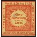 Berlin 1908 Kino Ausstellung am Zoo