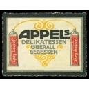 Appels Delikatessen ... Anchovy-Paste (2 Tuben)