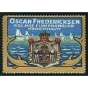 Fredericksen Kgl. Hof Fiskehandler Kobenhavn