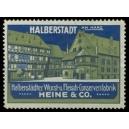 Heine Halberstädter Wurst- u. Fleisch-Conservenfabrik