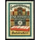 Bandell Stuttgart Geschäftsbücherfabrik Buchdruckerei (WK 02)