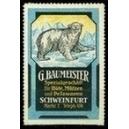 Baumeister ... Hüte Mützen Pelzwaren Schweinfurt (Eisbär)