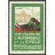 Bruxelles 1926 XIX Salon de l'Automobile et du Cycle