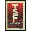 Bruxelles 1928 TSF XXIIe Salon de l'Automobile