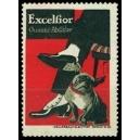 Excelsior Gummi-Absätze (Mann Hund - rot)