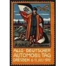 Dresden 1912 Allg. Deutscher Automobil Tag ADAC Sitz München