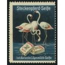 Steckenpferd-Seife ist die beste Lilienmilch-Seife (Flamingos)