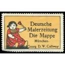 Die Mappe München Deutsche Malerzeitung (WK 103)