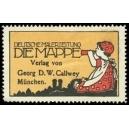 Die Mappe München Deutsche Malerzeitung (WK 104)