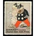Hjemmets populaere Kaptain Vom med Frue